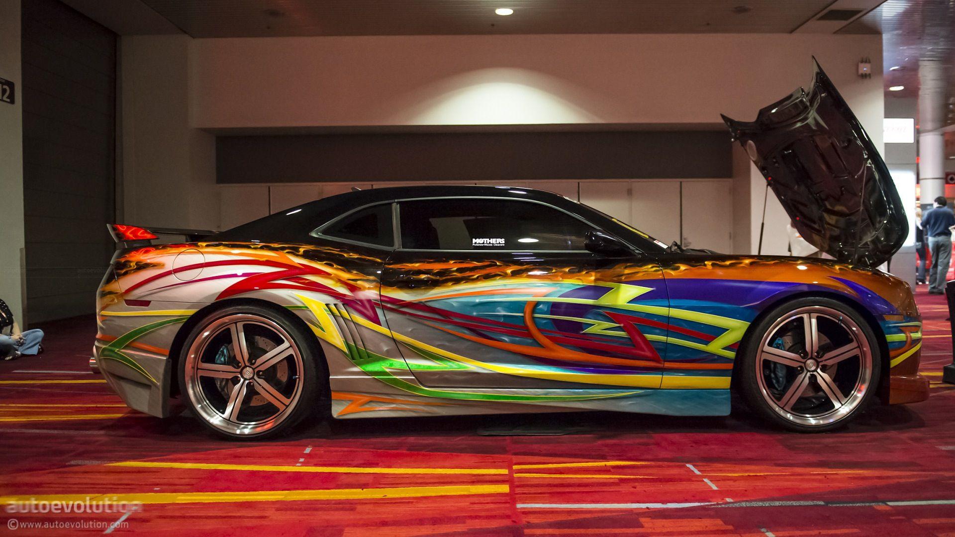 outrageous paint cars pinterest