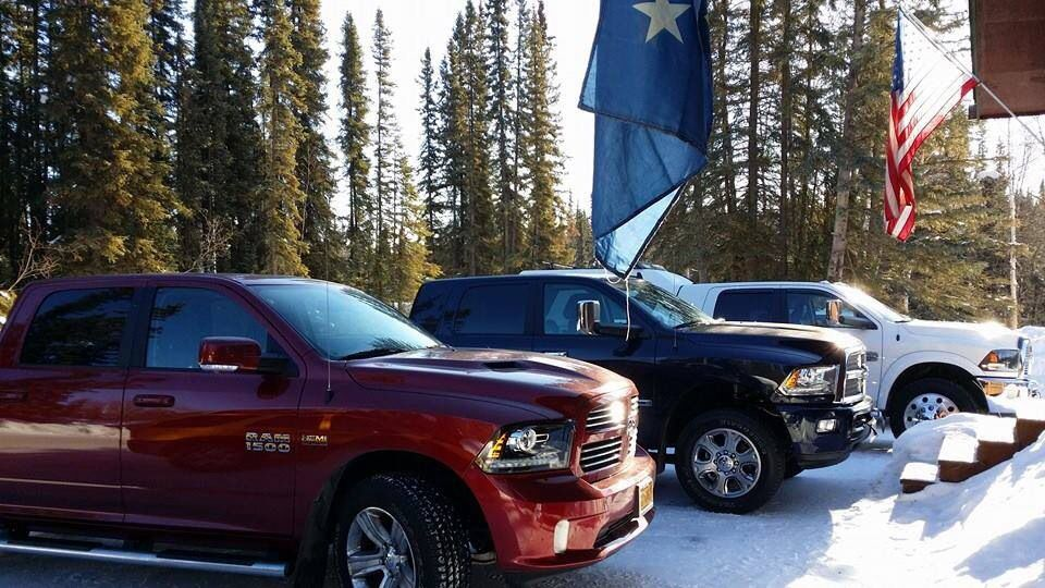 Dodge Ram Trucks >> Red white and blue Rams | Dodge and Ram Pickup Trucks | Pinterest