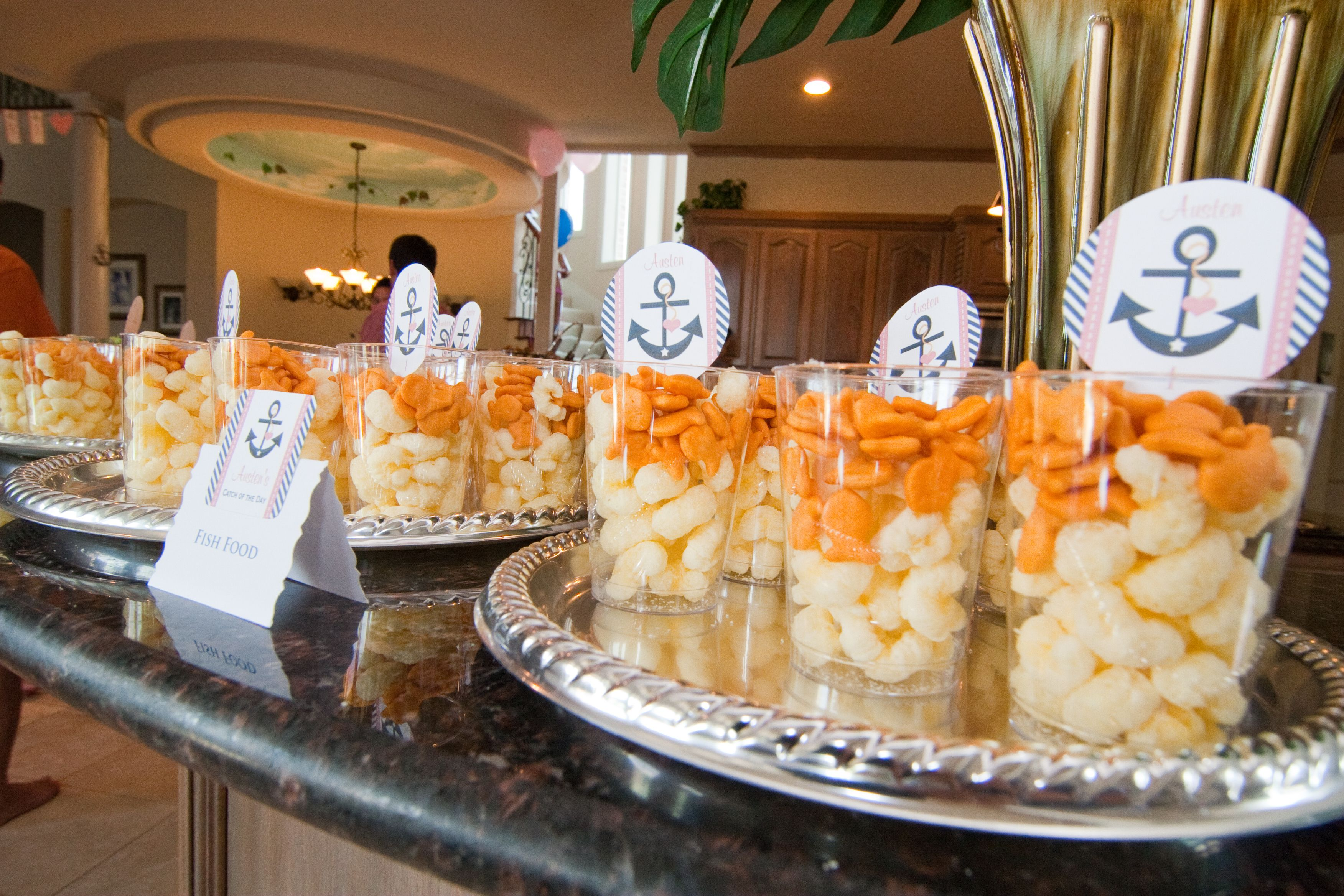 1000 images about nautical food ideas on pinterest for Fish themed party food