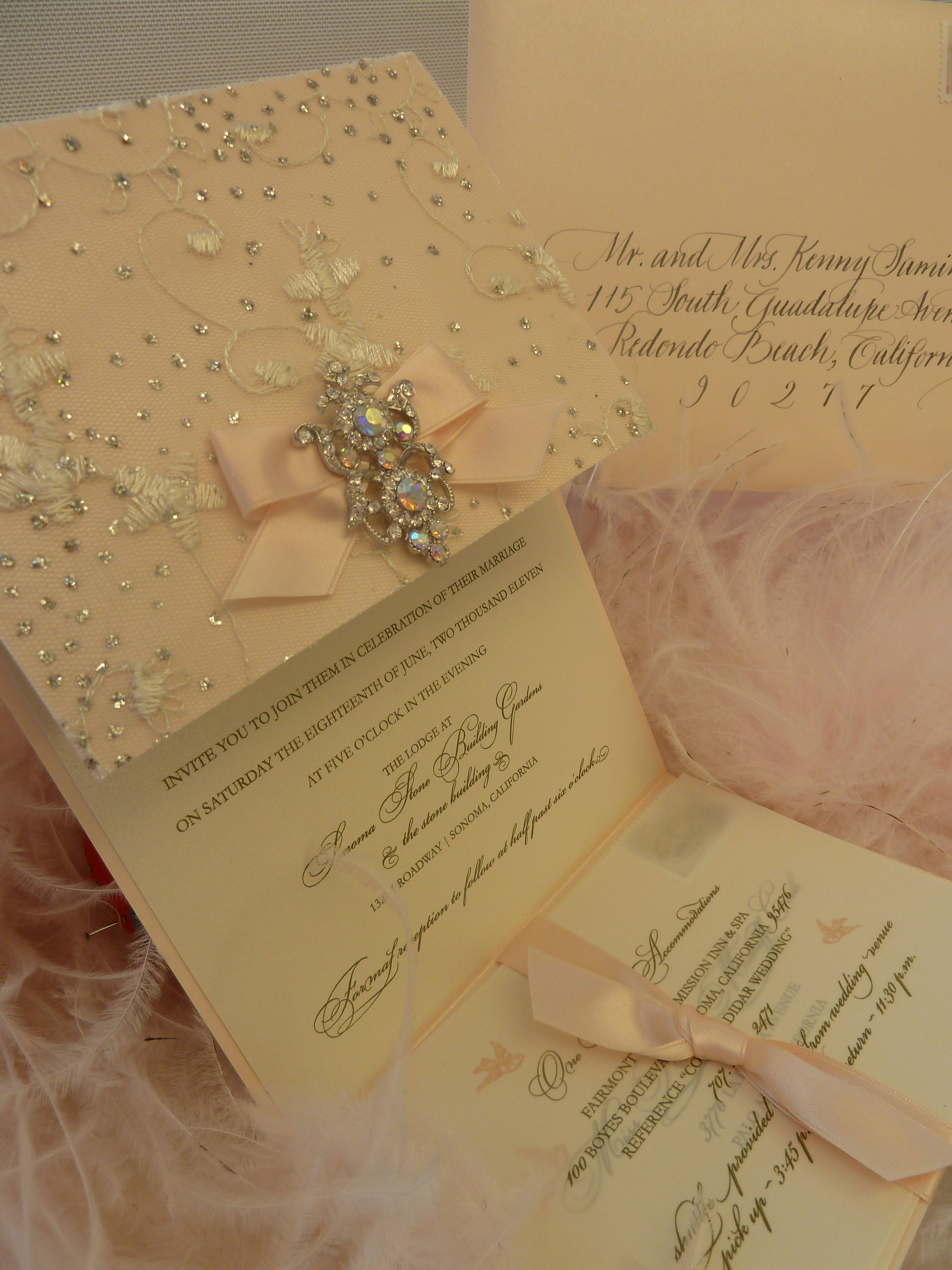 Sparkle Wedding Invitations