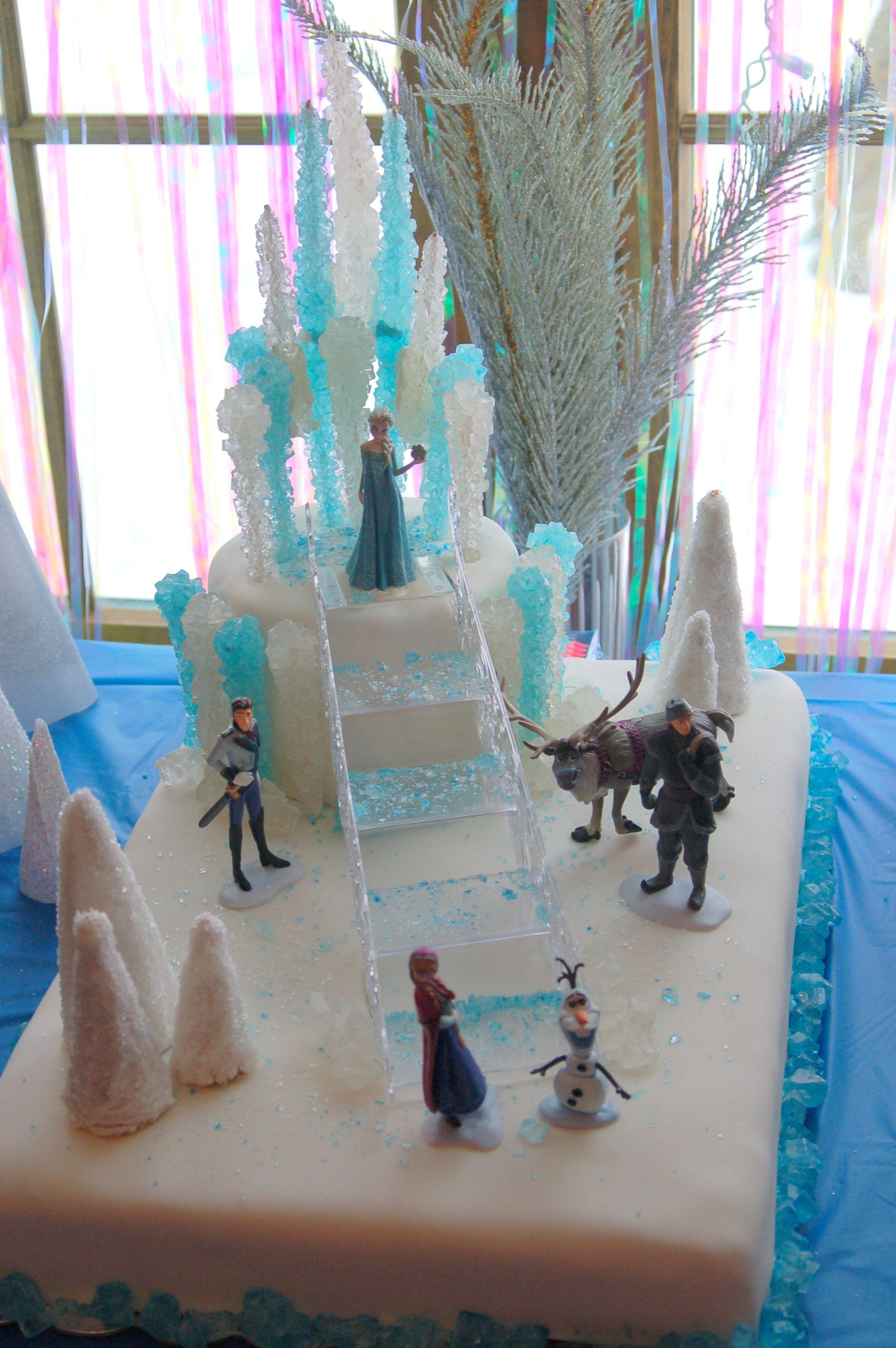Frozen Cake Design Pinterest : Disney Frozen Cake Cakes, Cupcakes & Cake Pops Pinterest