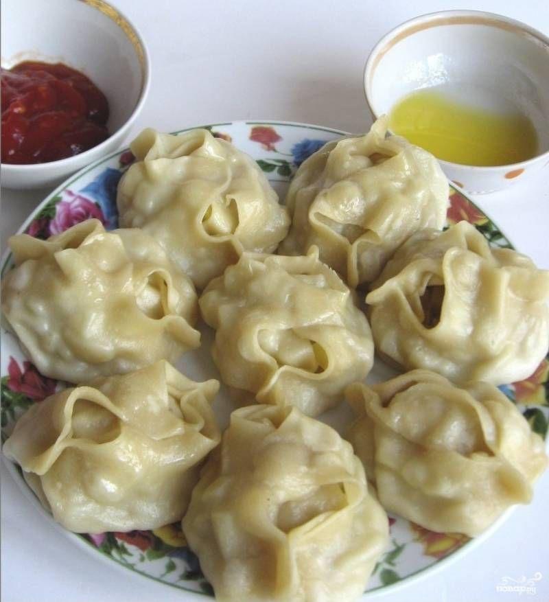 Узбекский рецепт мантов с мясом пошаговый рецепт с