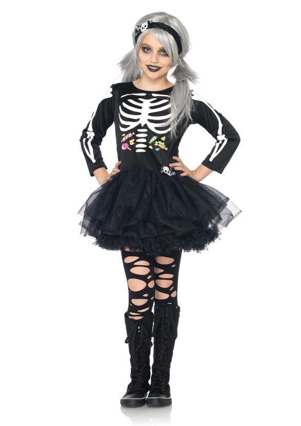 Костюмы на хэллоуин своими руками для девочек страшные