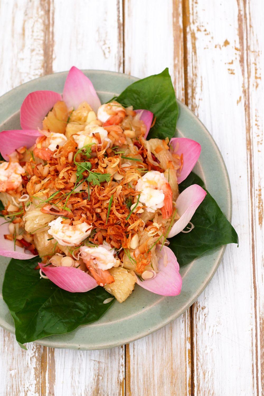 ... salad thai chicken and shrimp noodle salad thai pomelo salad yam som o