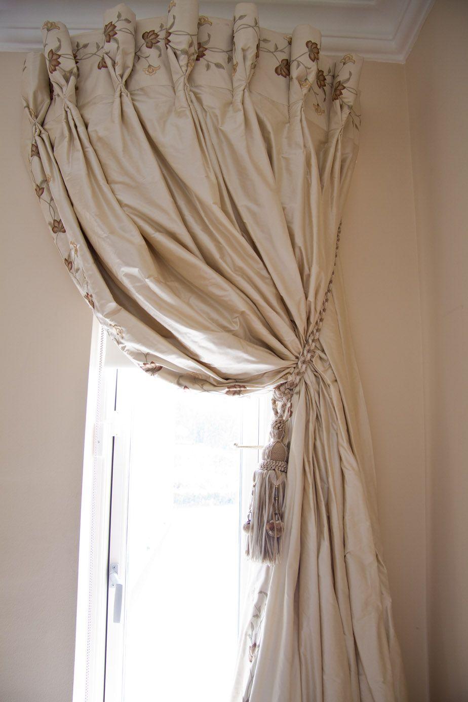 Curtains for half moon windows