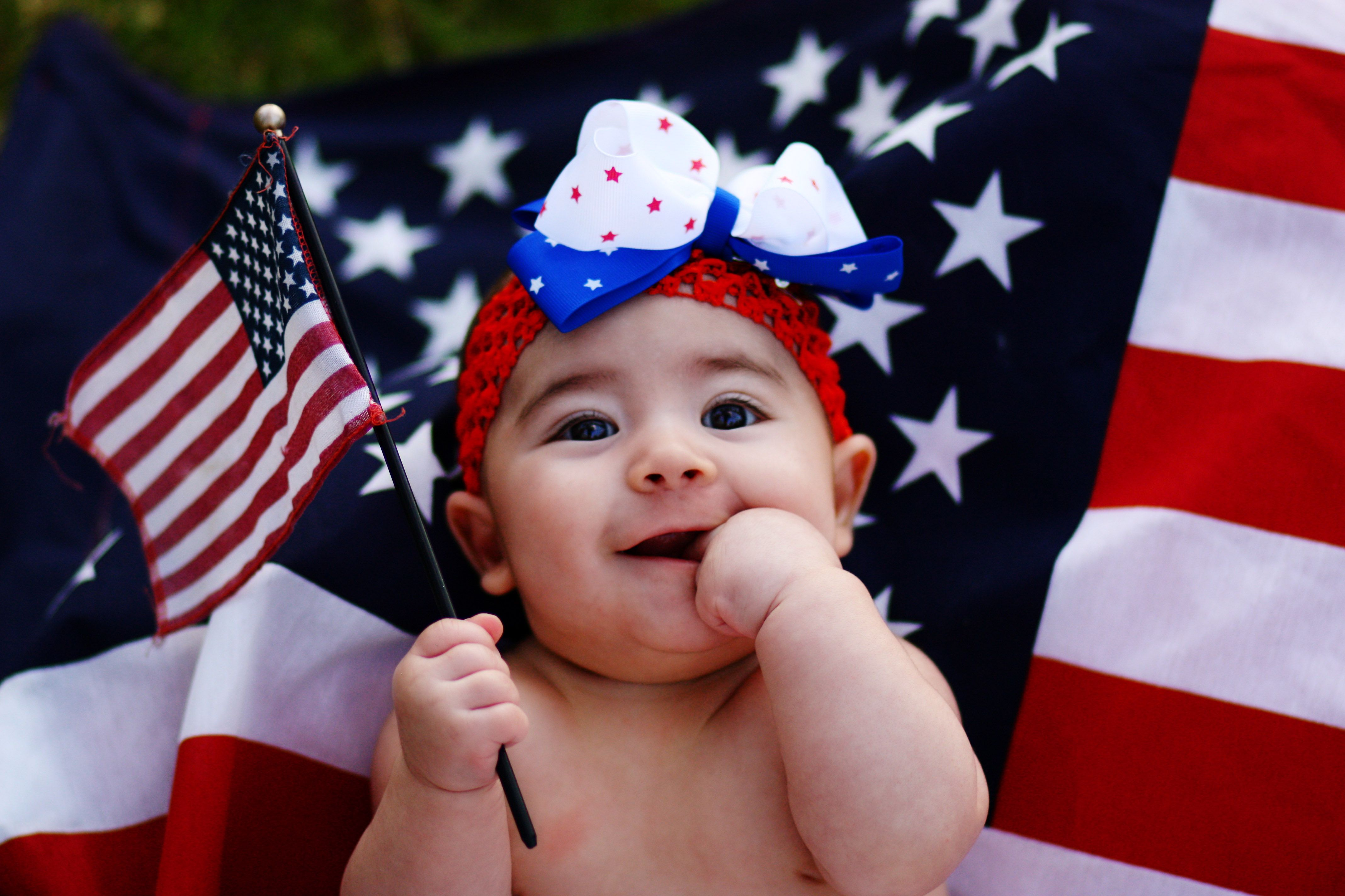 4th of july baby pics