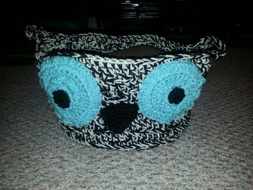 Crochet Owl Basket : Crochet owl basket Crochet Like You Mean It Pinterest