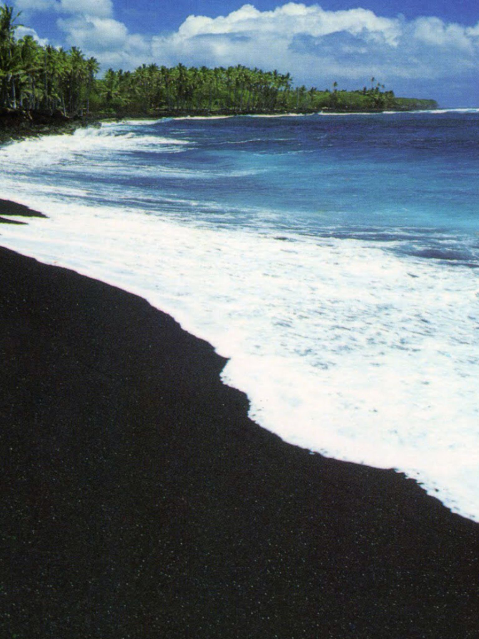 Pinterest Black sand beach hawaii