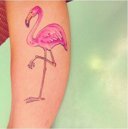 flamingo tattoo tattoo ideas pinterest. Black Bedroom Furniture Sets. Home Design Ideas