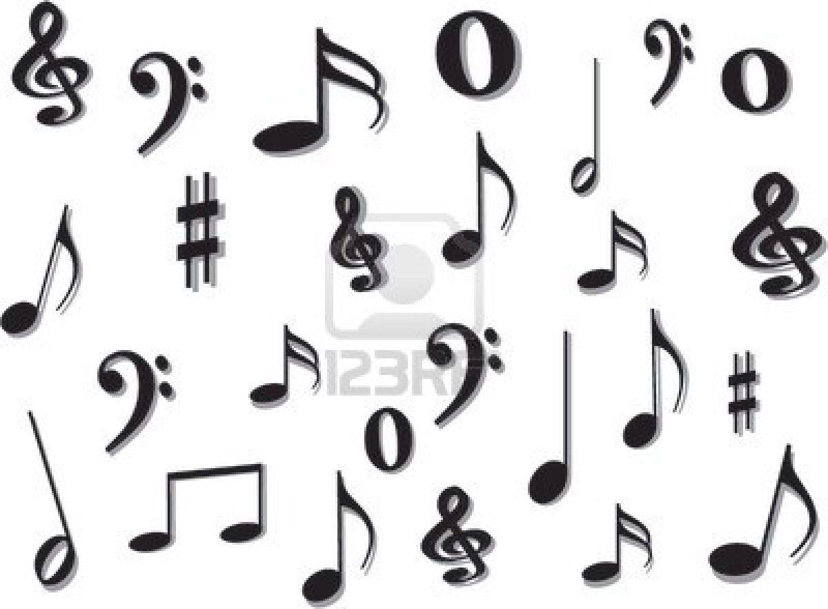 Line Art Notes : Music notes ♪ band ♫ pinterest