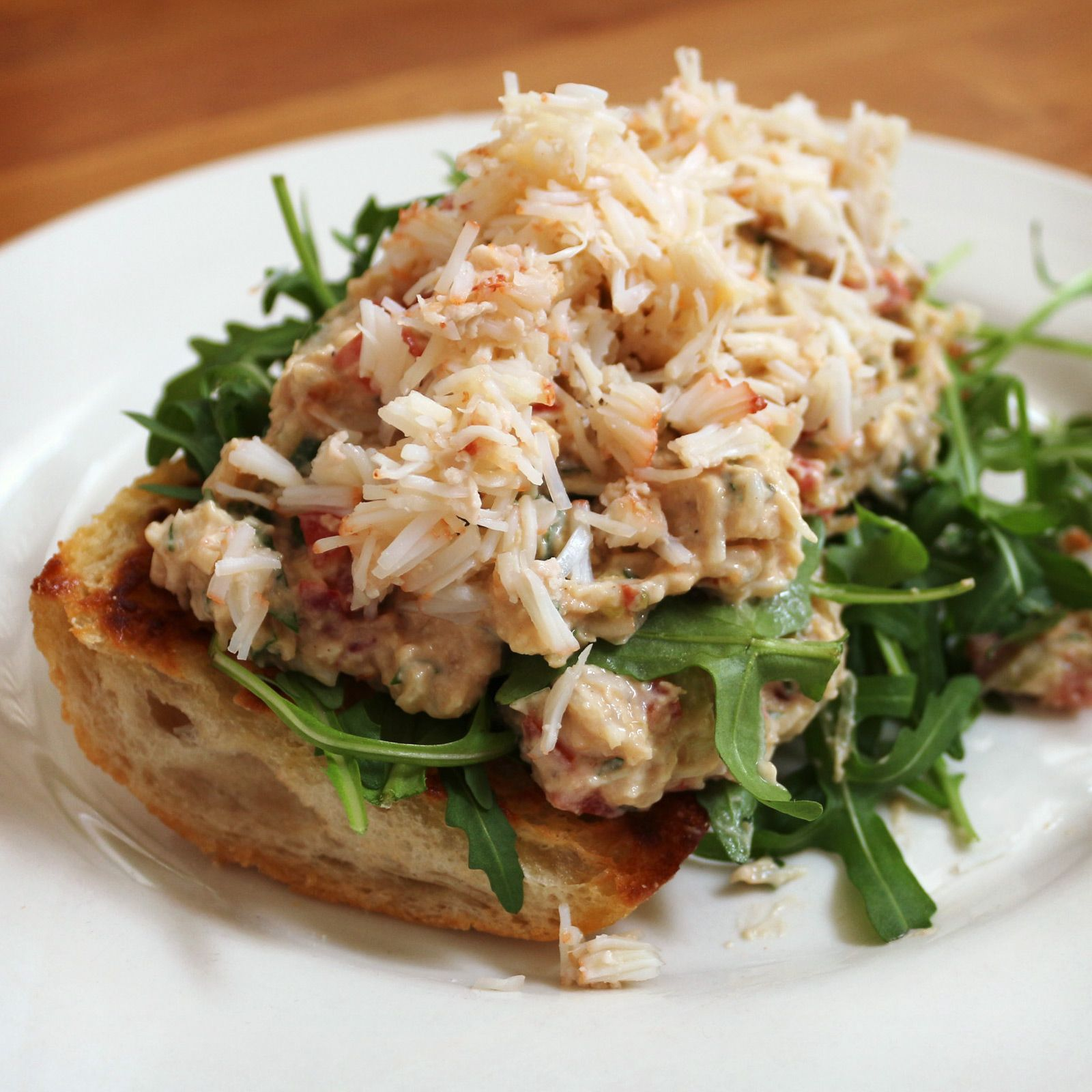 Crab sandwich | Food: Sandwiches | Pinterest