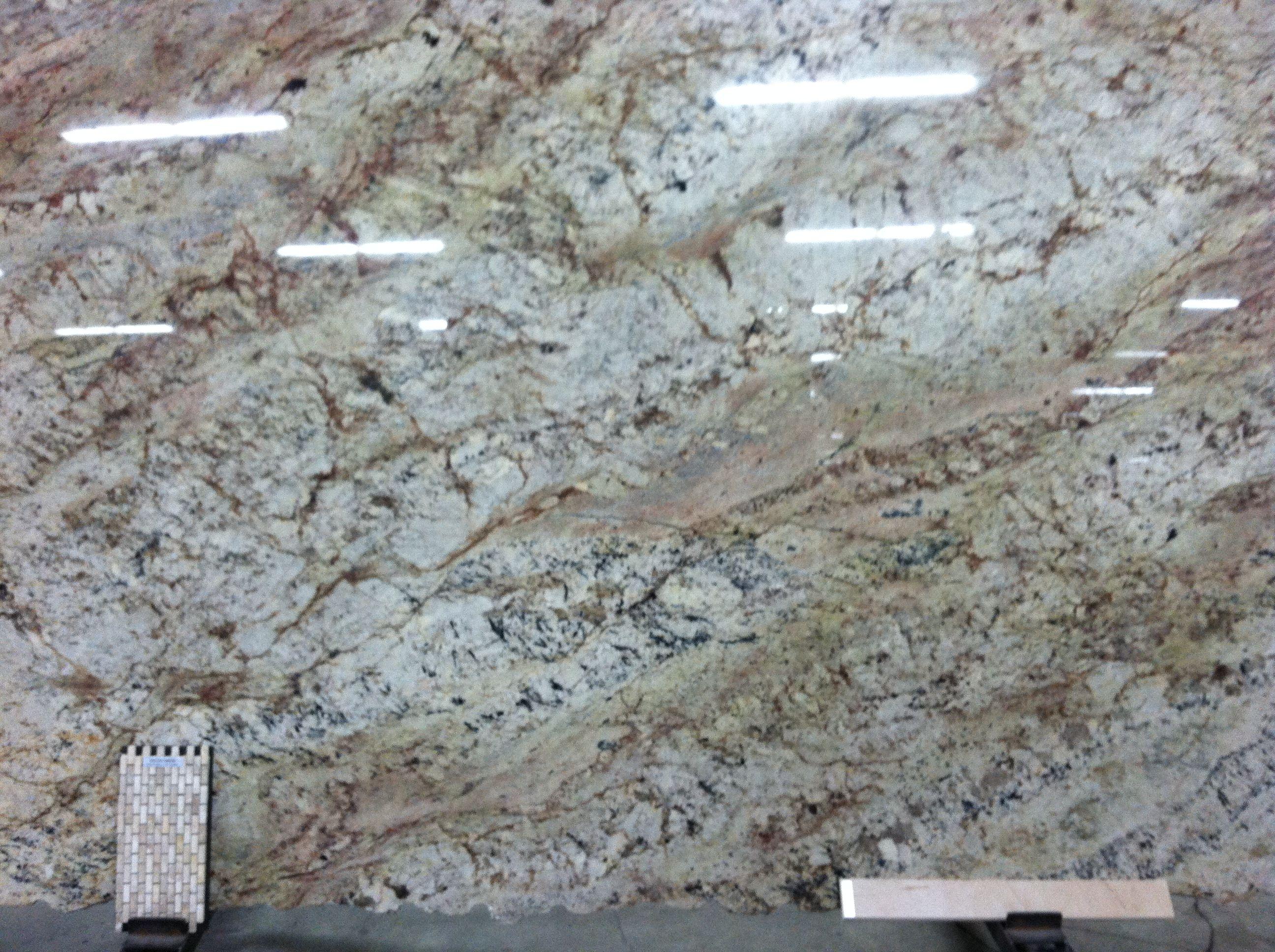 Sienna Bordeaux granite slab  Granite with white cabinets  Pinterest