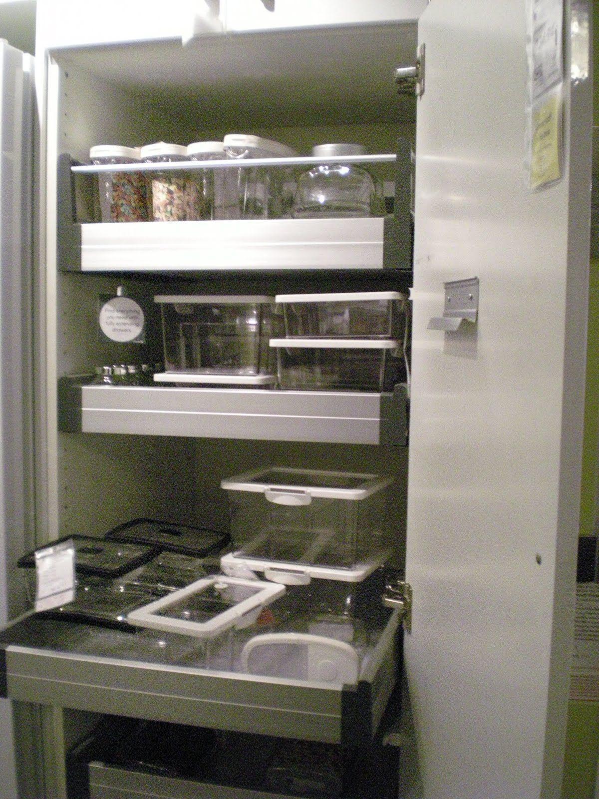 Ikea kitchen pantry organize pinterest - Ikea kitchen pantry ...