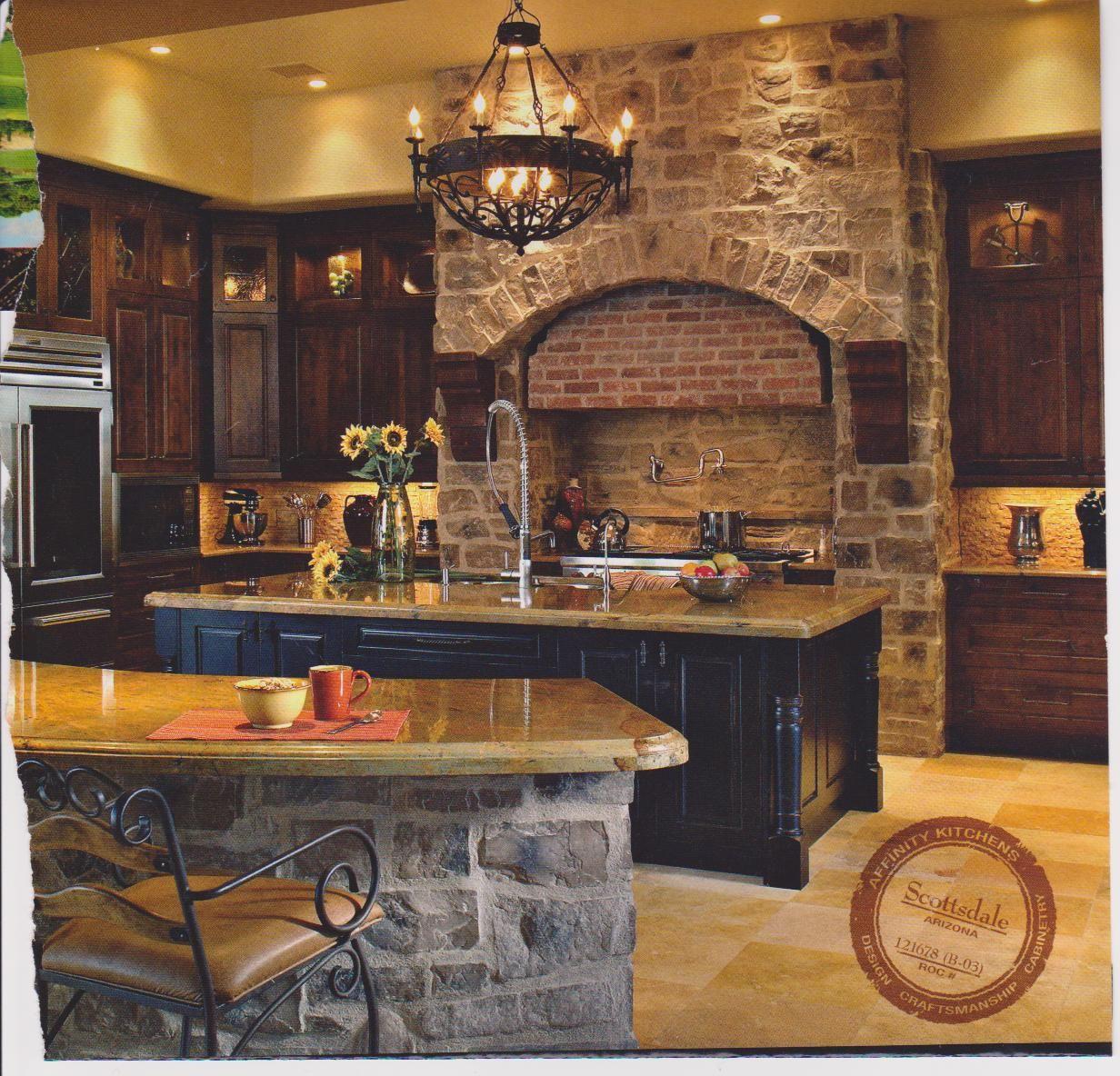 Old world kitchen design kitchen of my dreams pinterest for Kitchen designs old world style