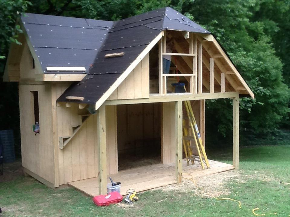 out building - goat barn | Farm life - goat pens | Pinterest