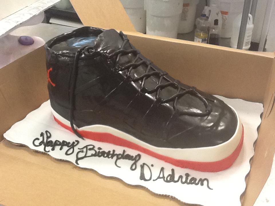 Jordan Shoe Cake Design All my sh** dope {Jordan s ...