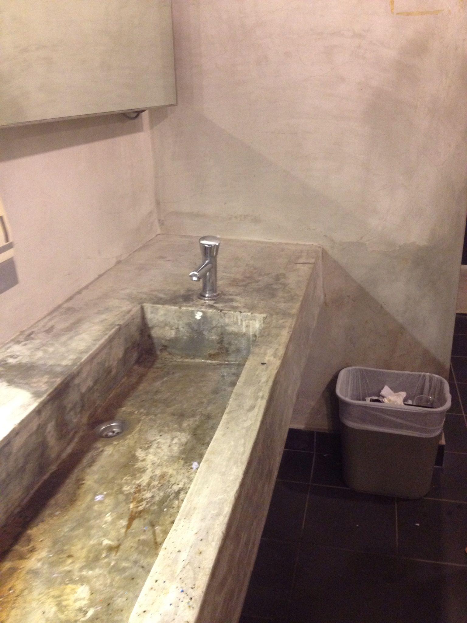 Concrete Sink : Concrete sink...master bath idea rustic Pinterest