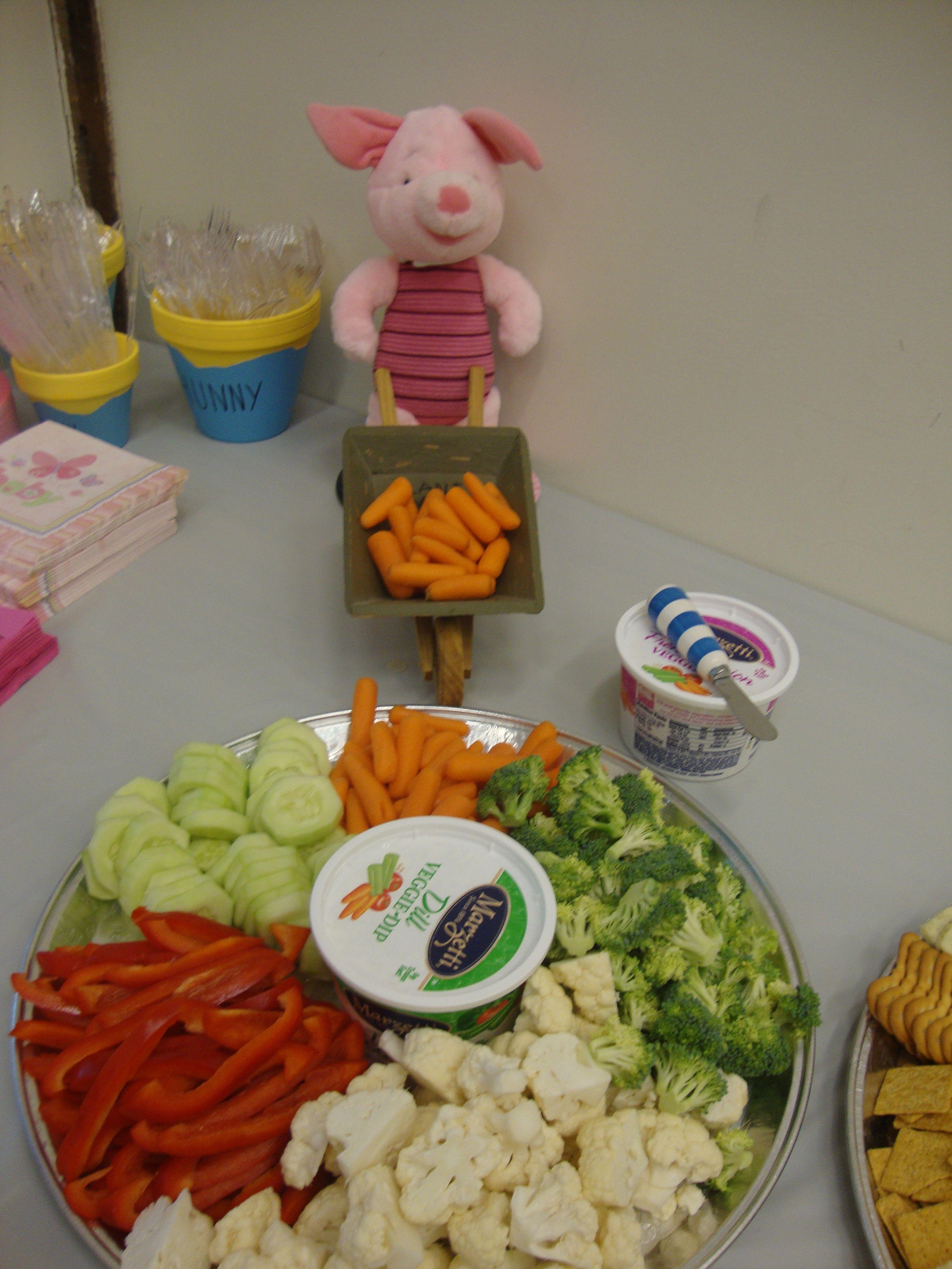 veggie tray baby shower pinterest
