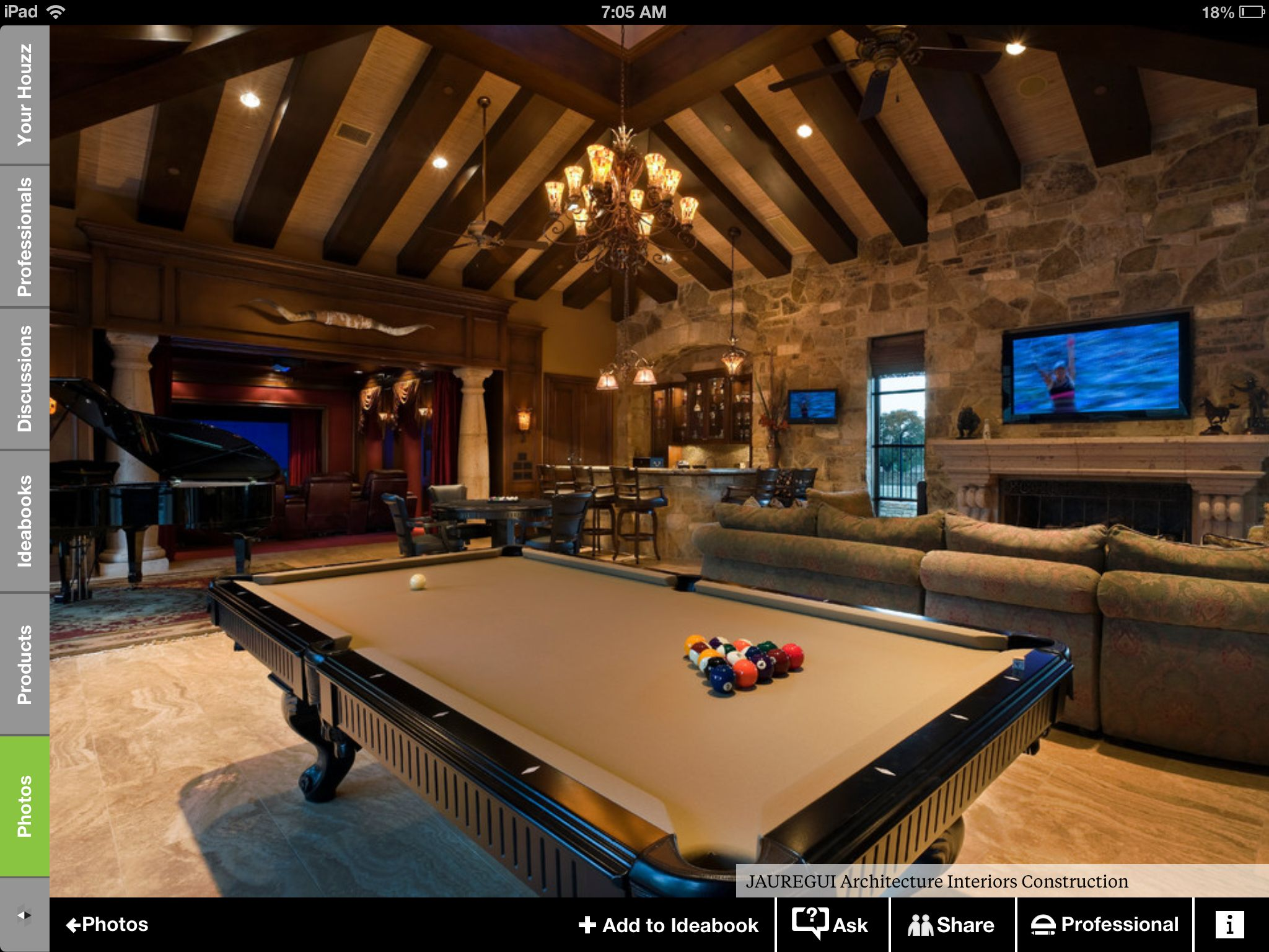 Man Cave With Pool : Man cave pool table decorating home decor pinterest