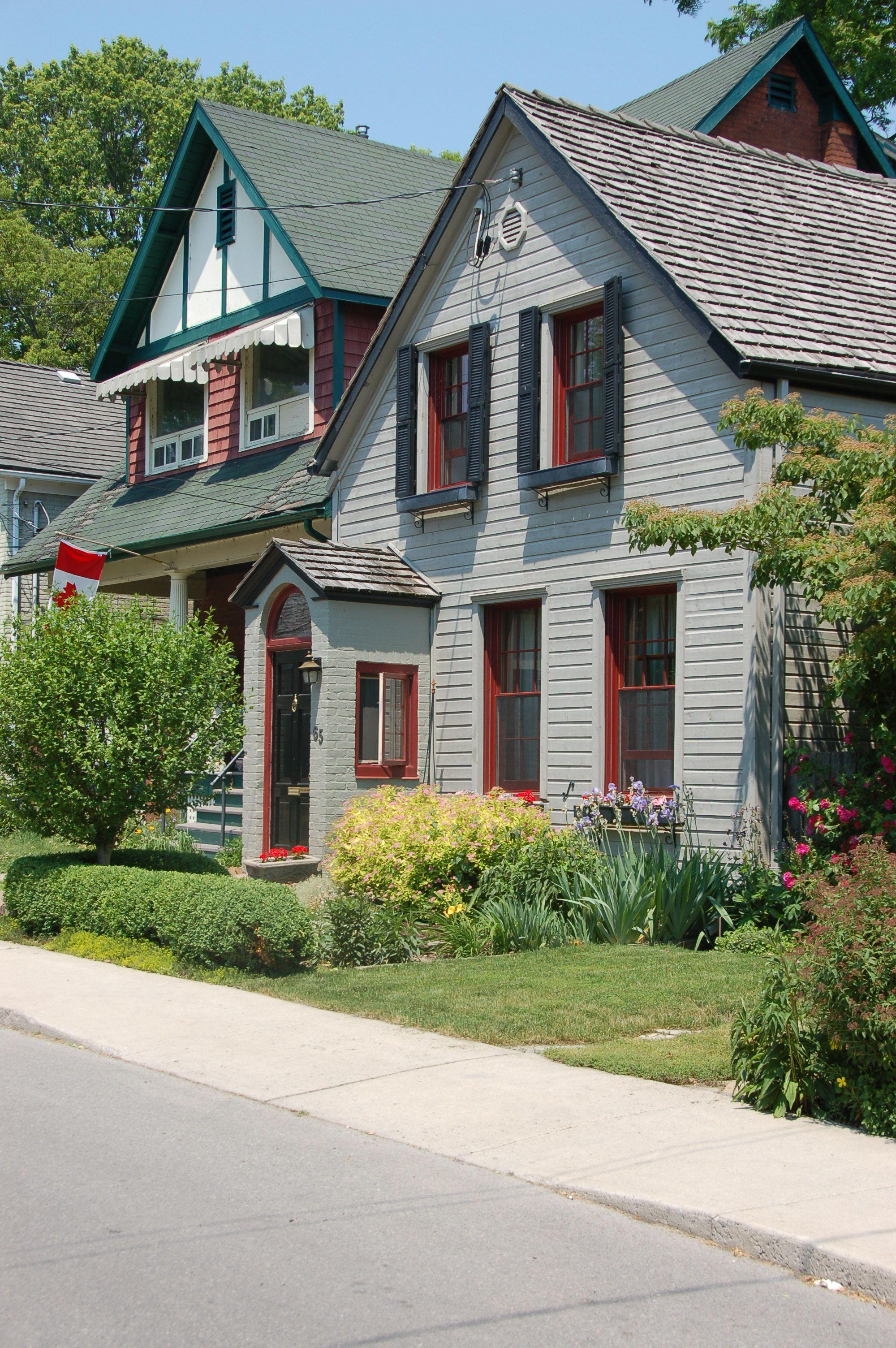 Old Historic Homes Kingston Ontario Canada Pinterest