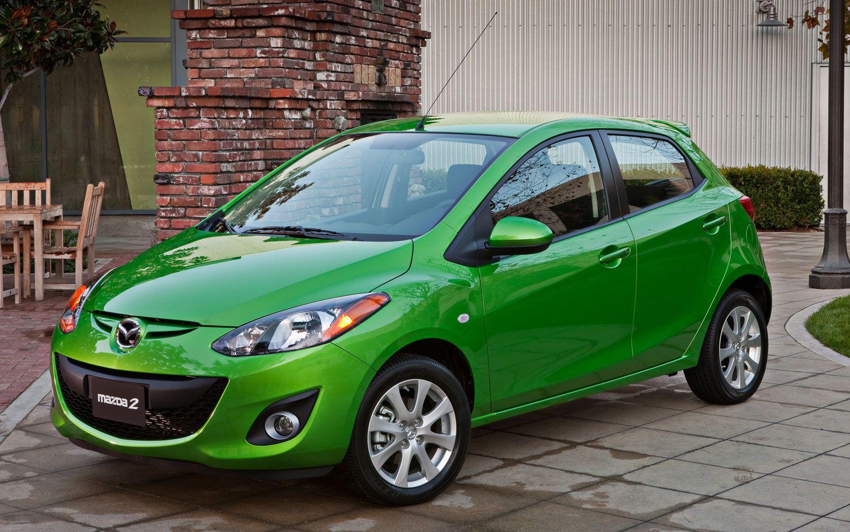 Green Mazda 2 Dream Cars Pinterest