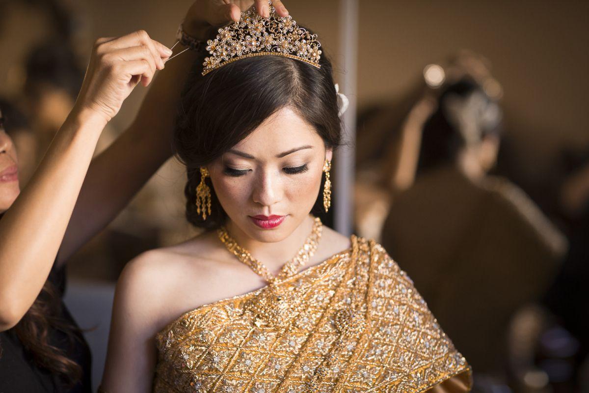 Cambodian Khmer Wedding Dress Angkor Weddings And