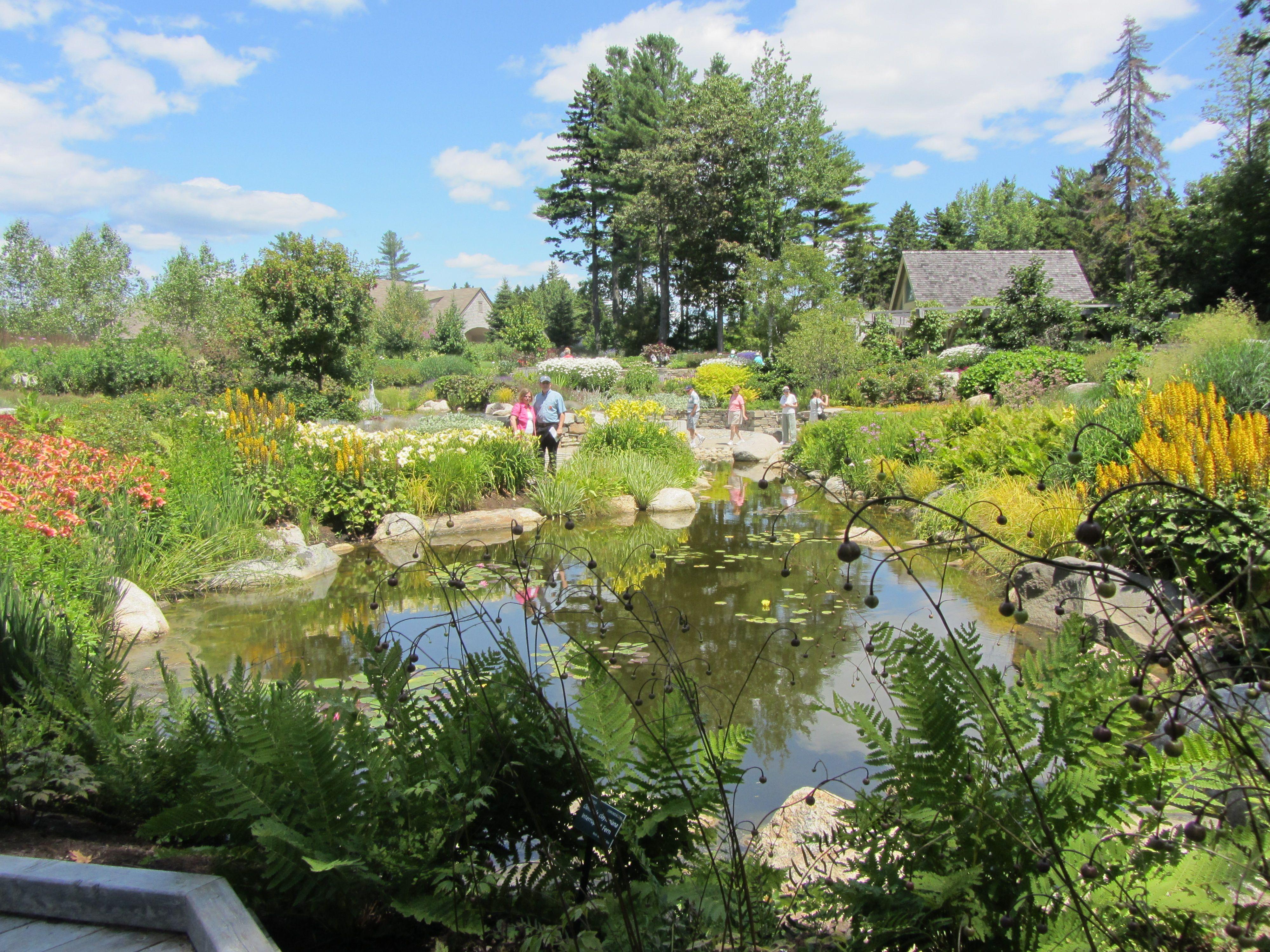 Coastal Maine Botanical Garden Maine The Way Life Should Be Pinte