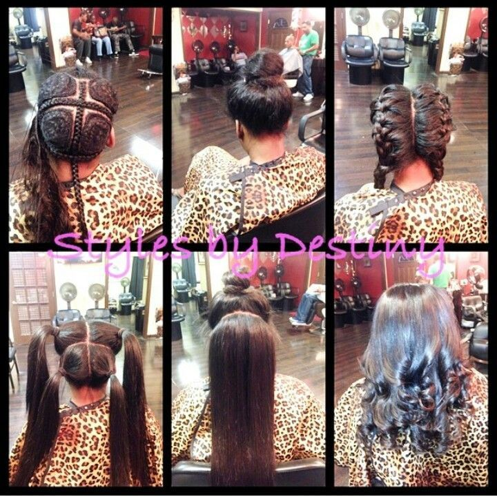 3 Way Vixen Sew In (Step By Step)