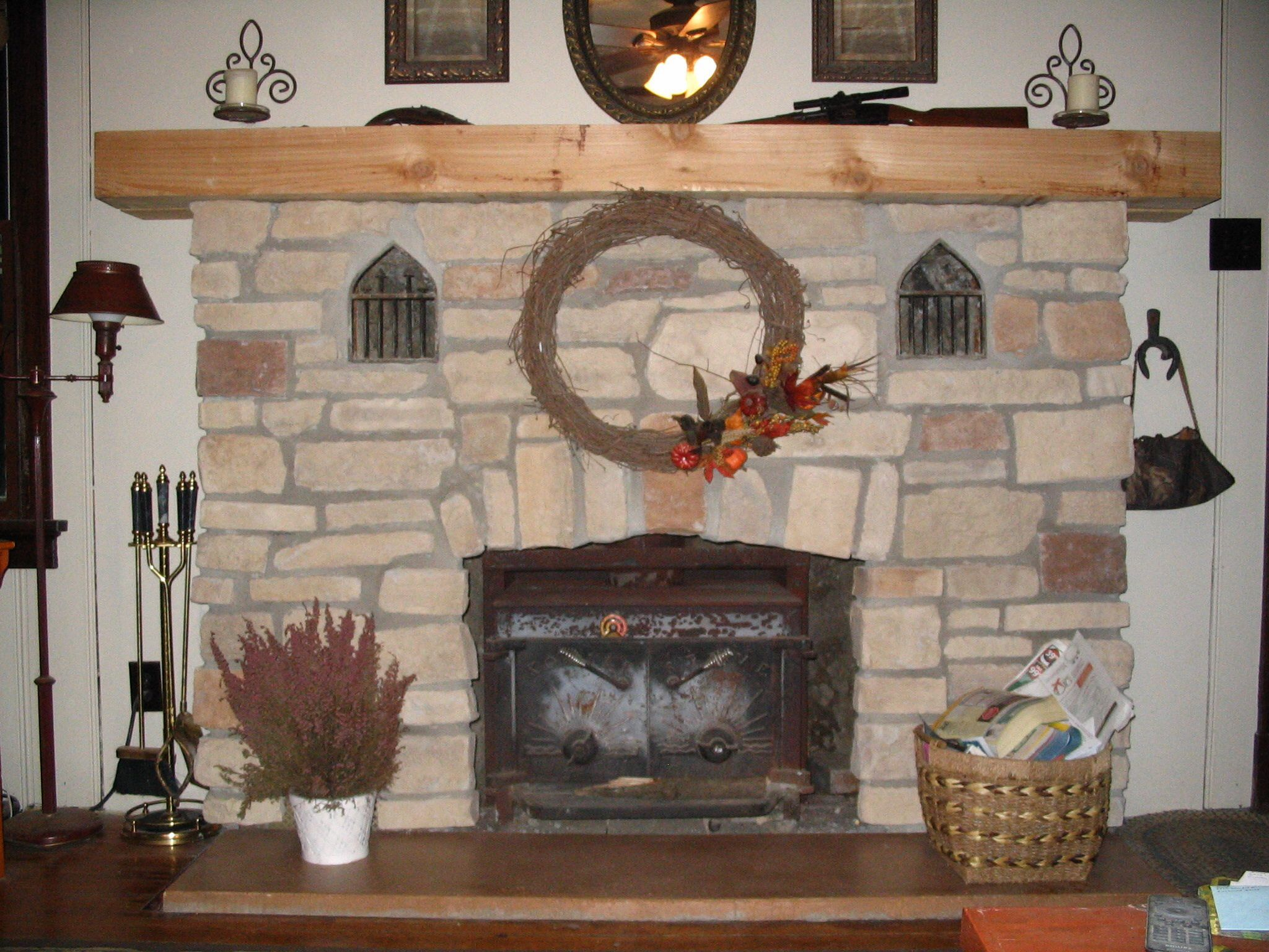 fireplace reface after for the home pinterest
