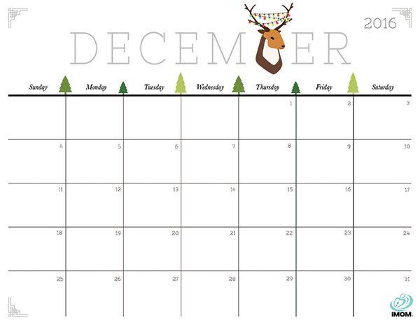 Cute and Crafty 2018 Calendar | Printable calendars, Merry and ...