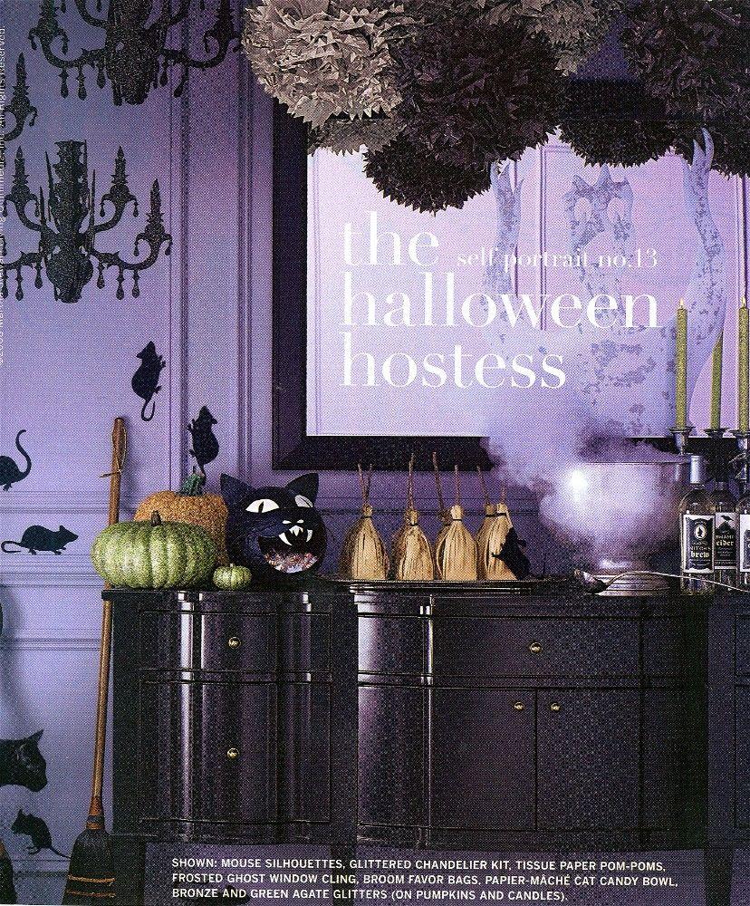 martha stewart halloween labels jars
