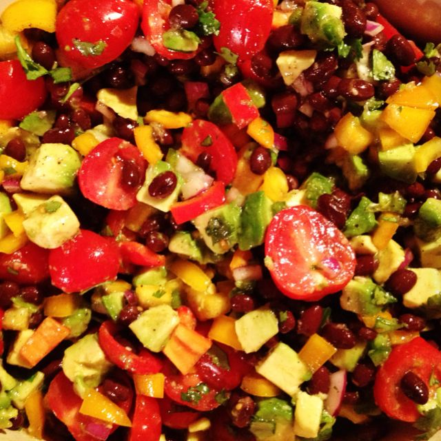 Barefoot Contessa Avocado Salad Food Pinterest