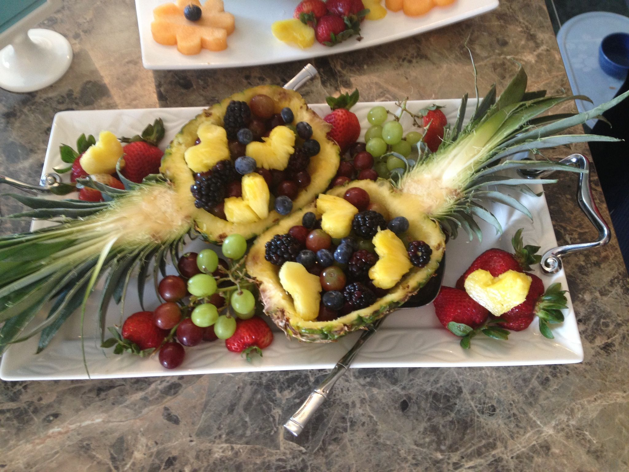 My Pineapple Fruit Bowl | yummy food | Pinterest