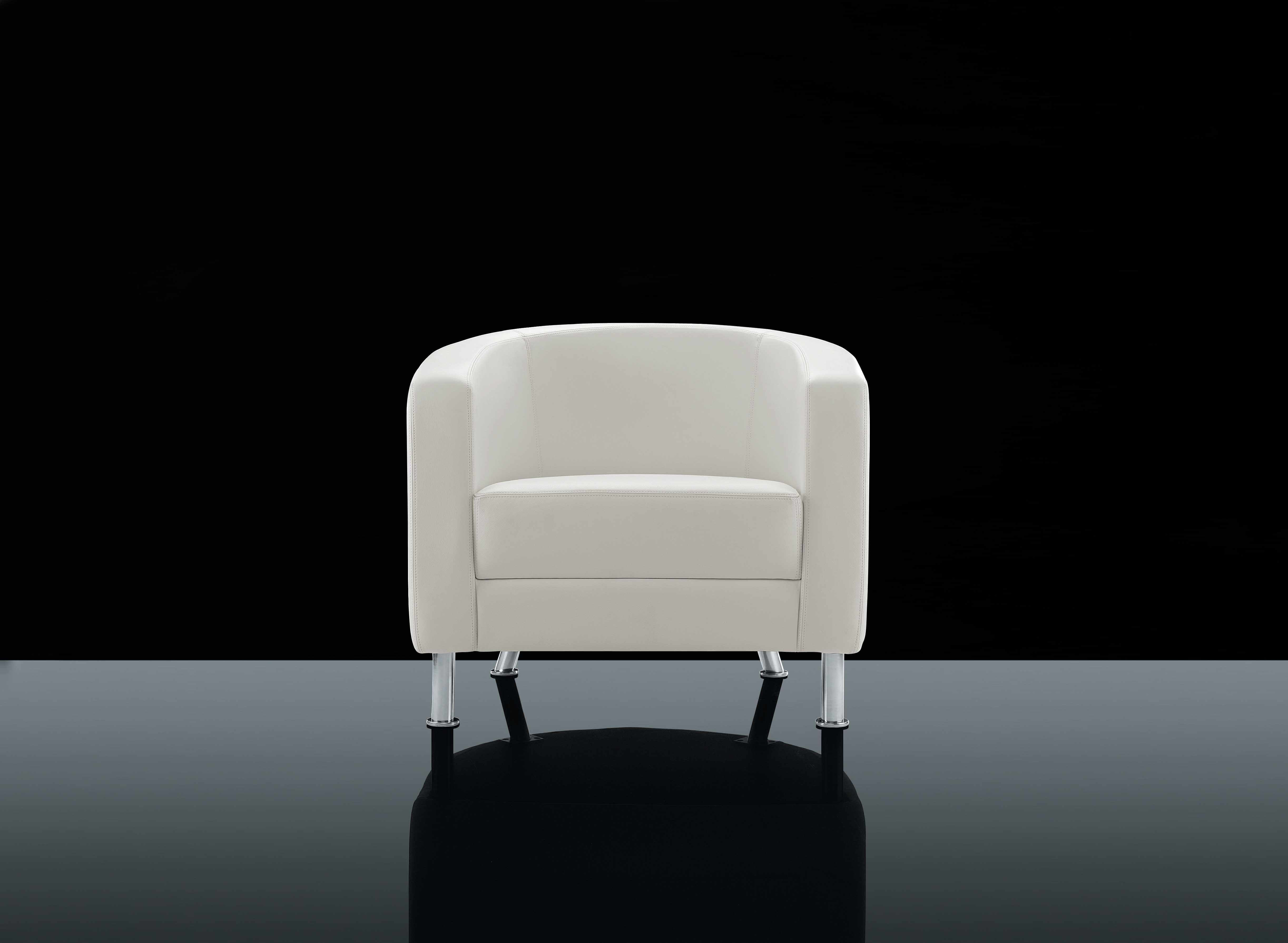 White Chair Black Background Black Magic Pinterest