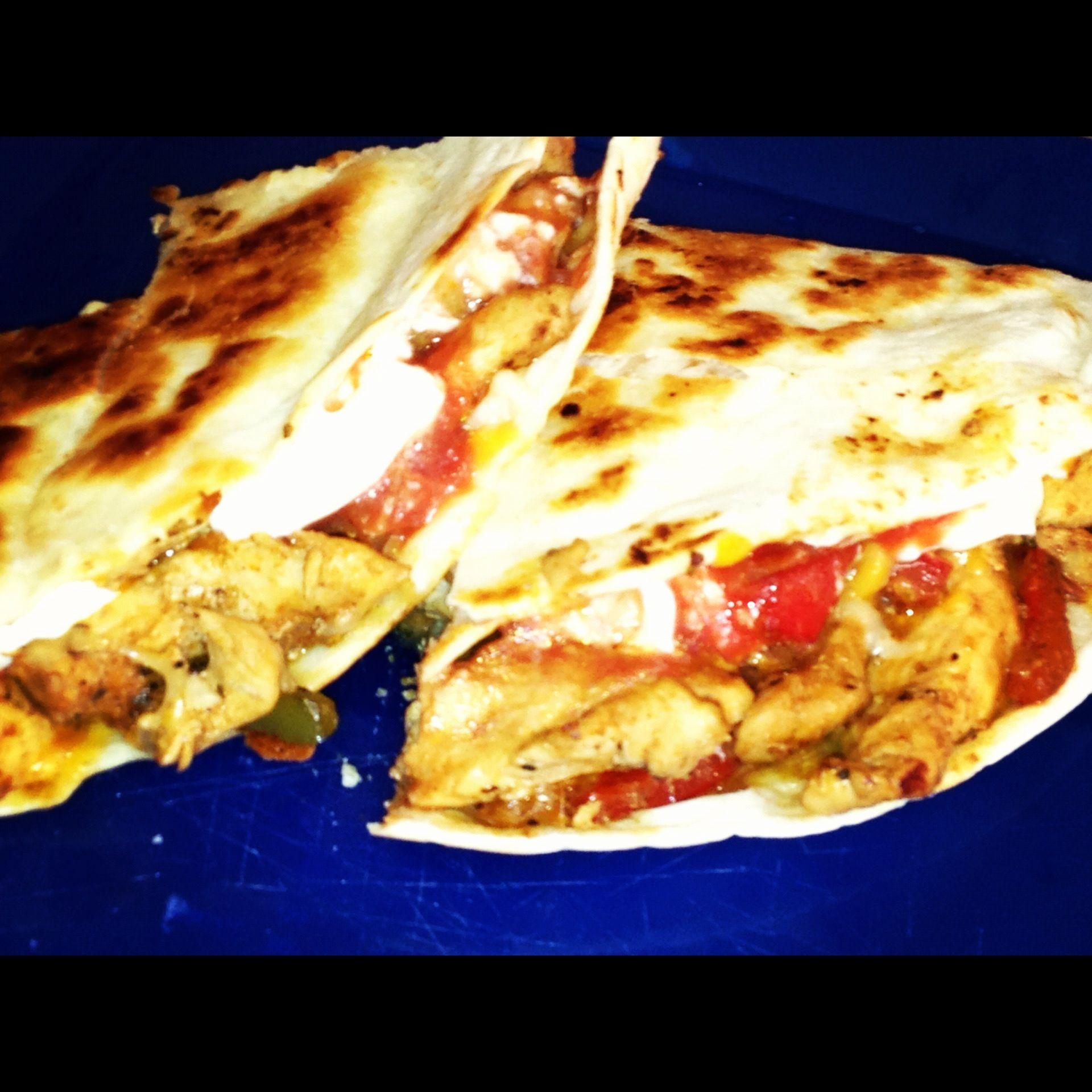 Chicken Fajita Quesadillas Recipes — Dishmaps