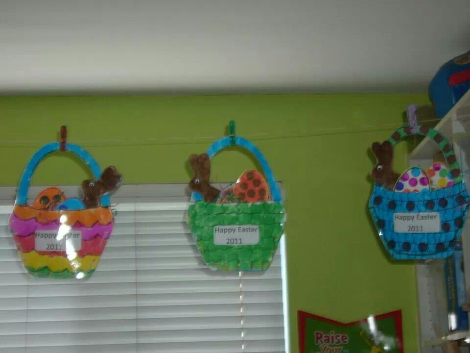 Preschool Art Easter Basket : Easter basket crafts happy days preschool