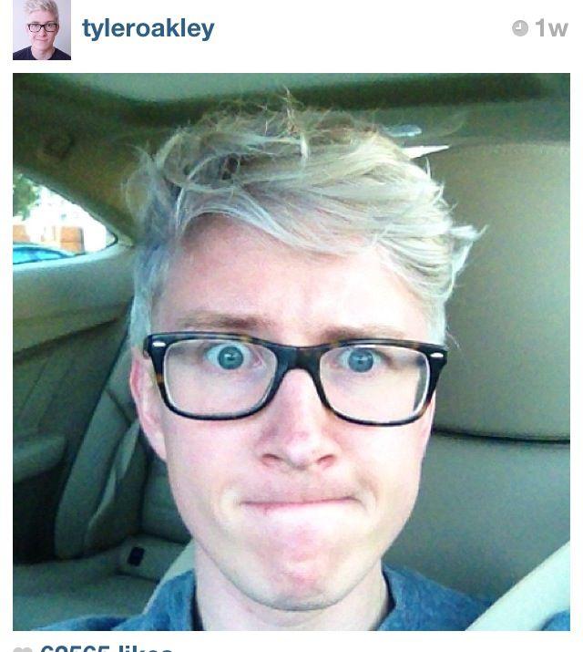 Tyler Oakley 2014 Green Hair | Louisiana Bucket Brigade