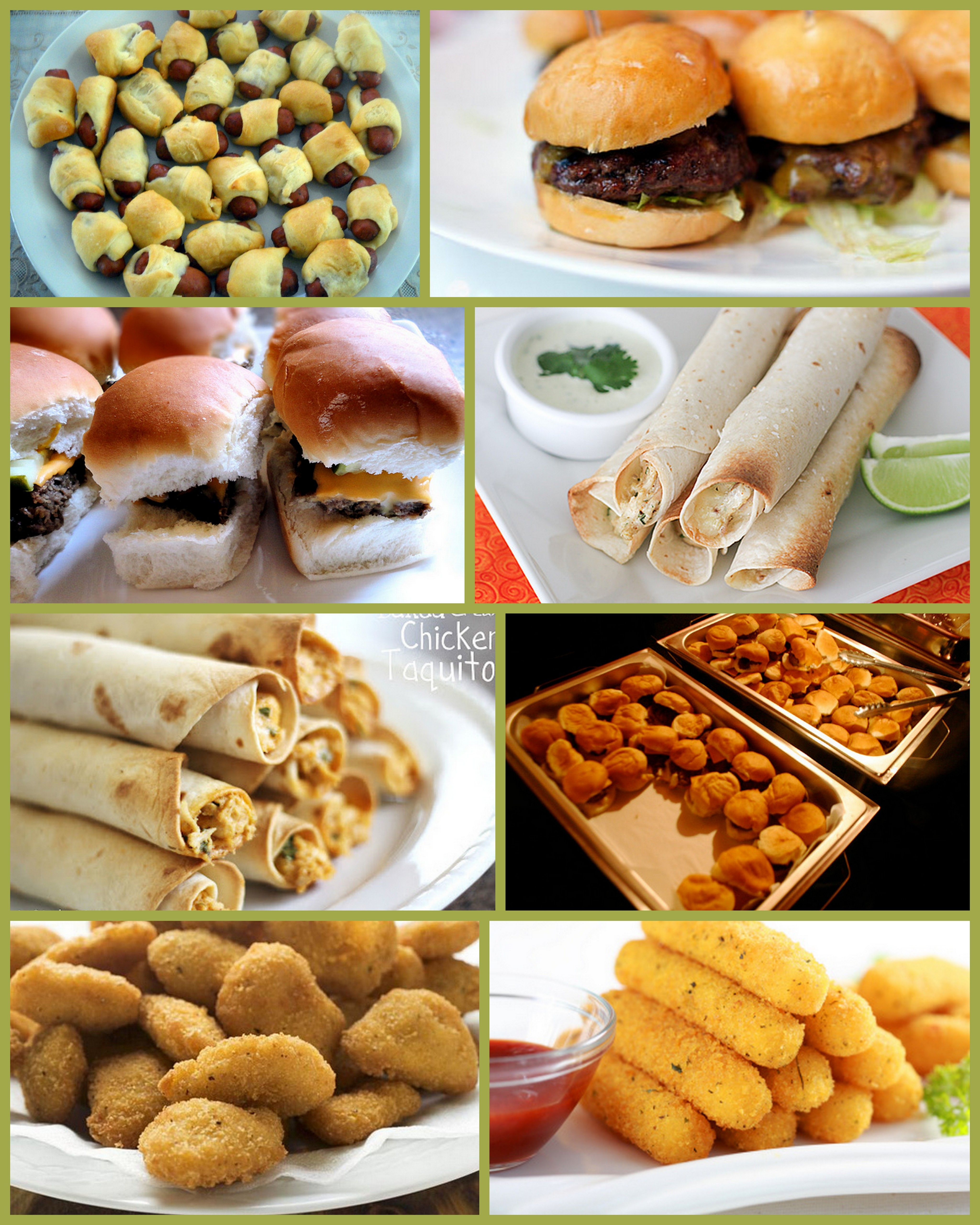 Finger food menu for party great recipes pinterest