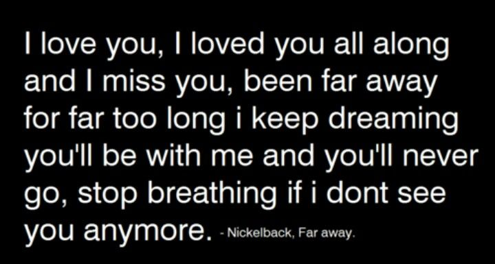 Nickelback Far Away Qu...