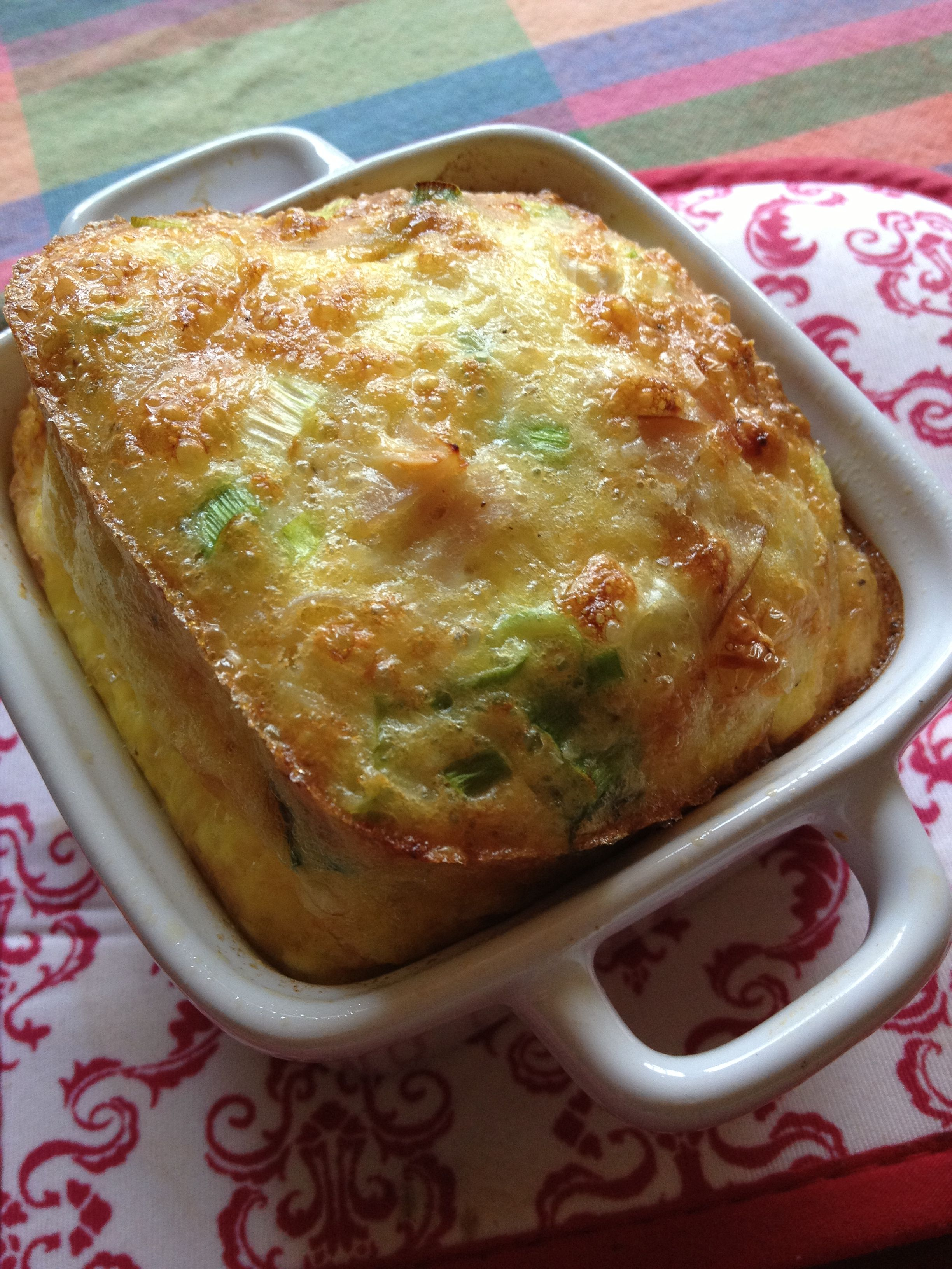 Single serving frittata | Bon Appetite - Cooking for One | Pinterest