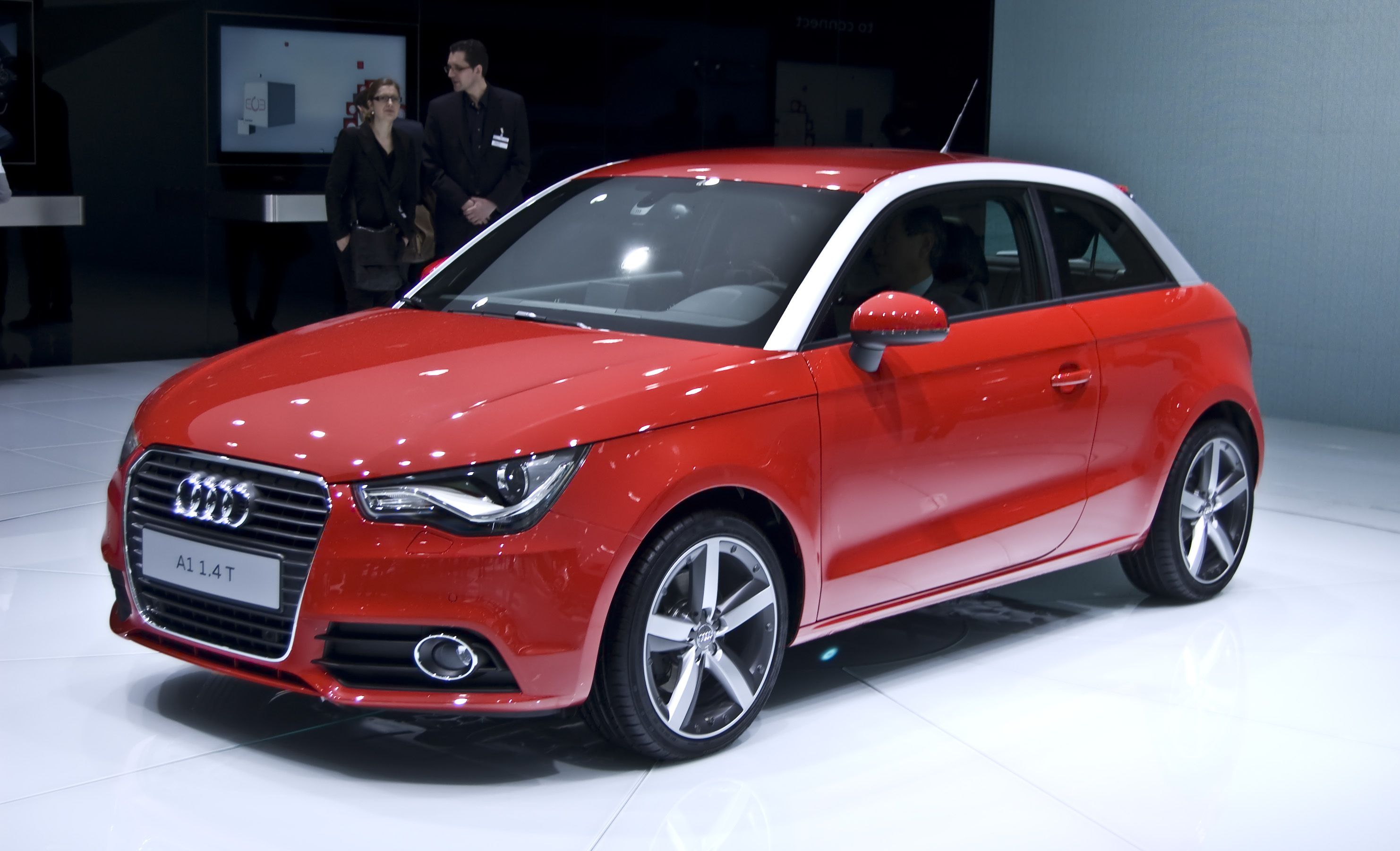 Red Rouge Audi A1 Awesome Cars Pinterest