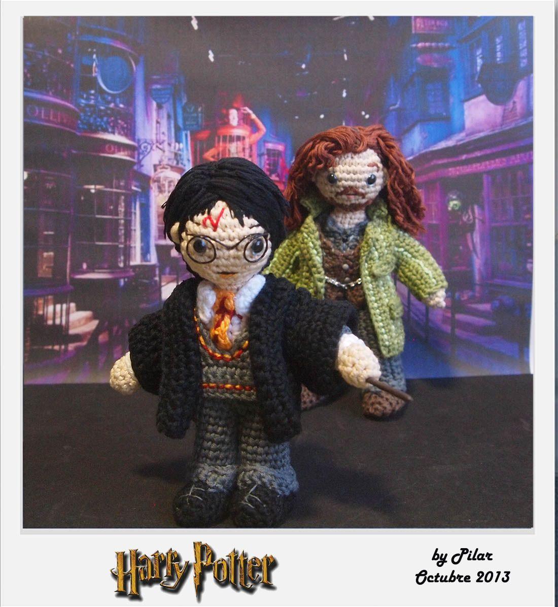 Amigurumi Human Pattern Free : #amigurumi Harry Potter Harry Potter Pinterest