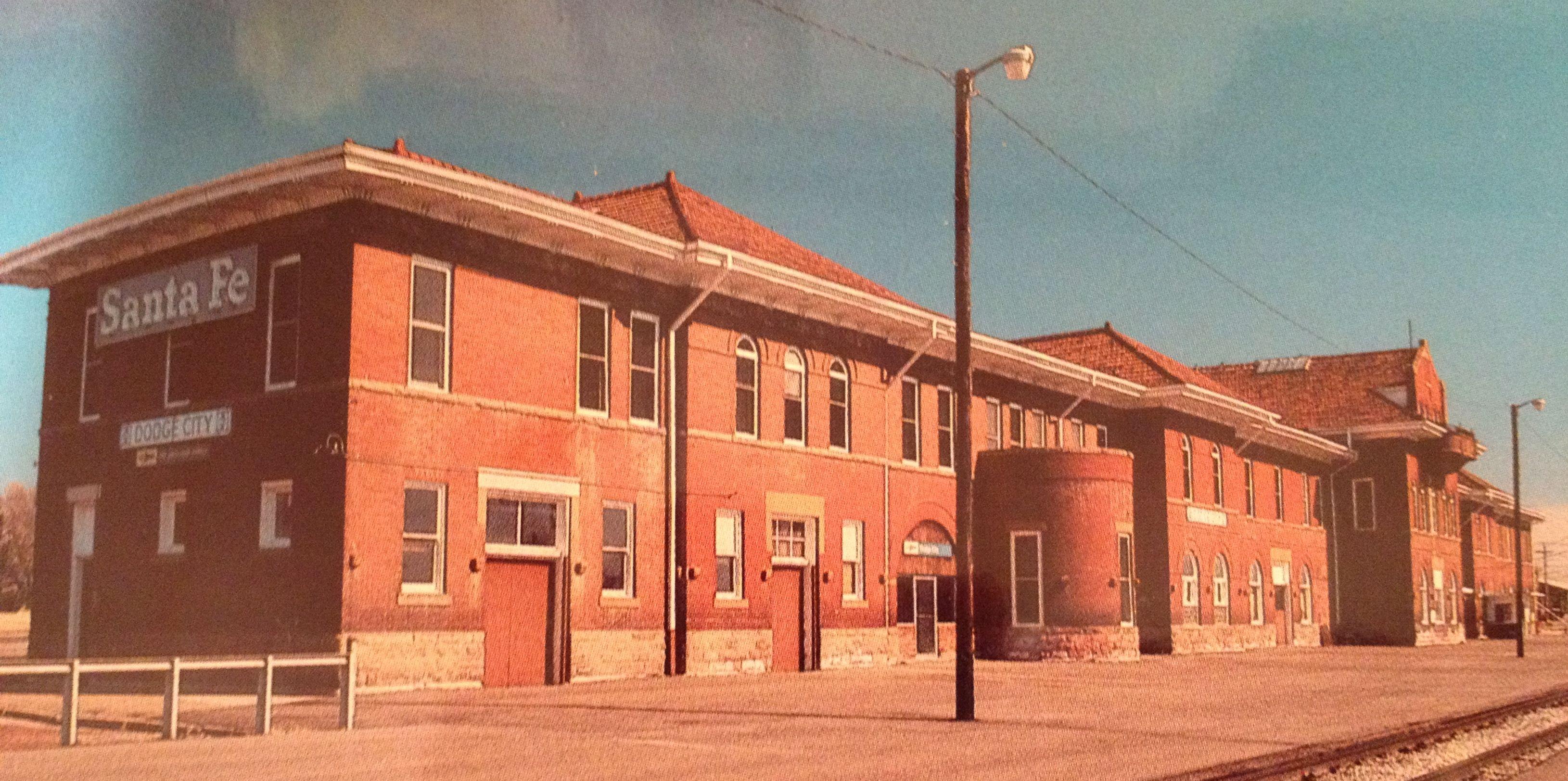 Dodge City Ks Railroad Stations Pinterest