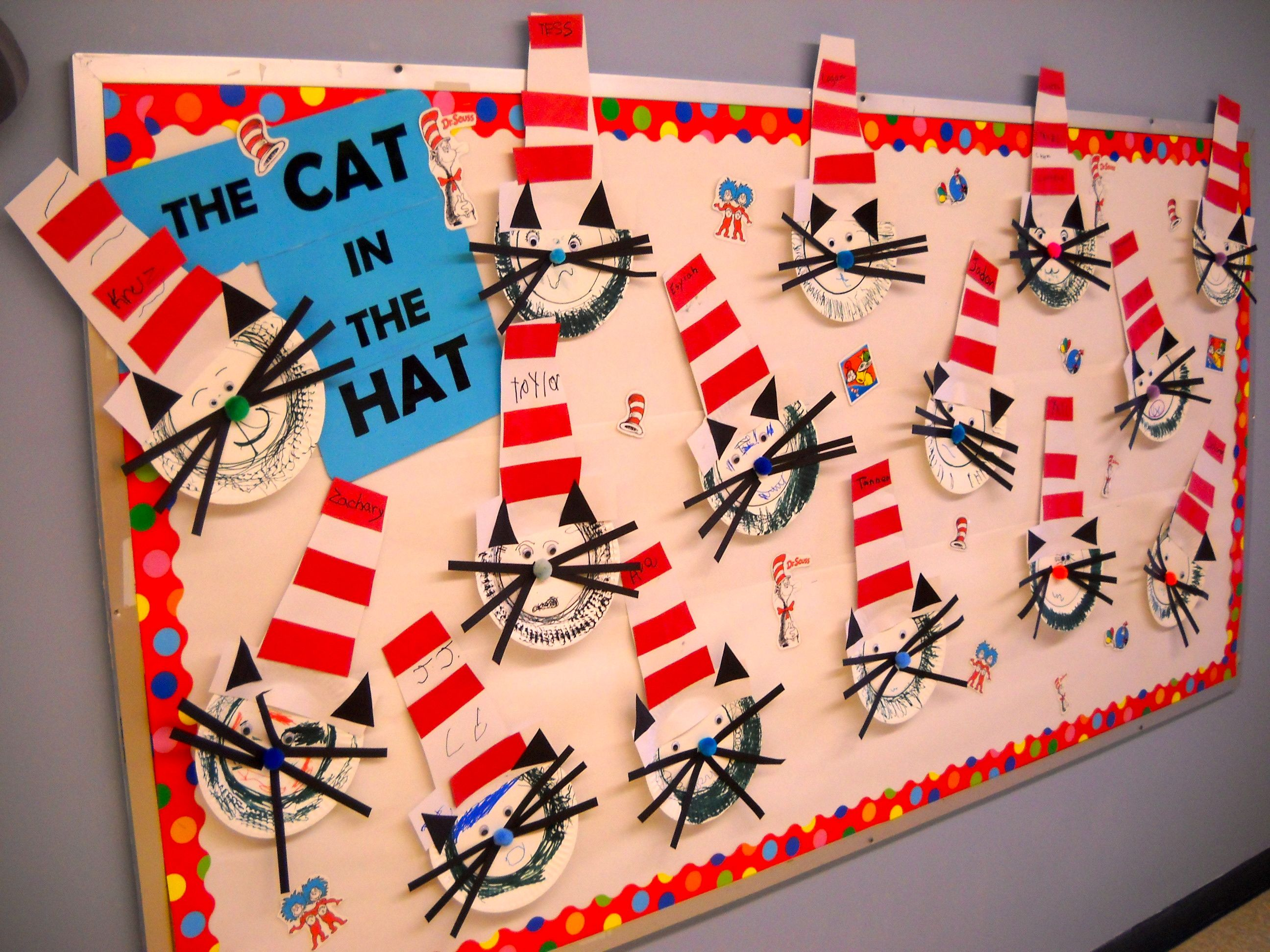 Cat In The Hat - craft? | Teaching Ideas | Pinterest