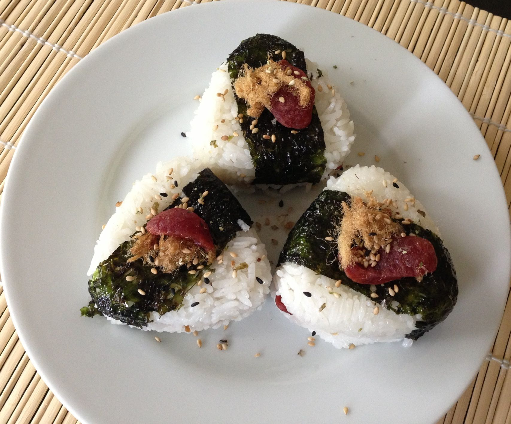 Japanese Rice Balls | Food Recipes | Pinterest
