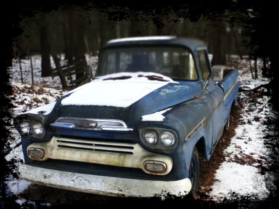 59 Chevy Apache Fleetside Chevy Truck Pinterest