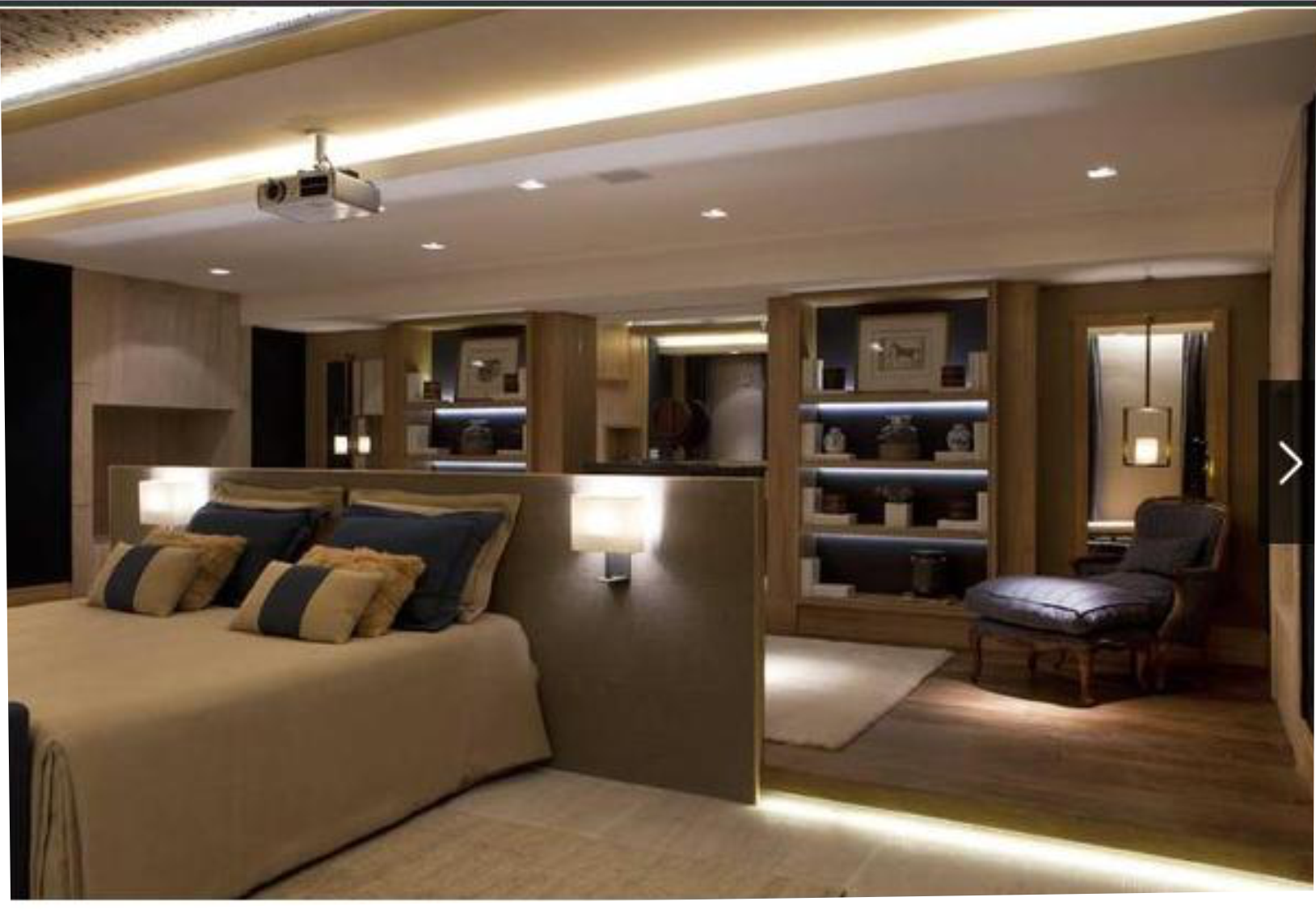 decoracao de interiores quarto de rapaz : decoracao de interiores quarto de rapaz:Casa Cor 2014 SP Quarto amplo