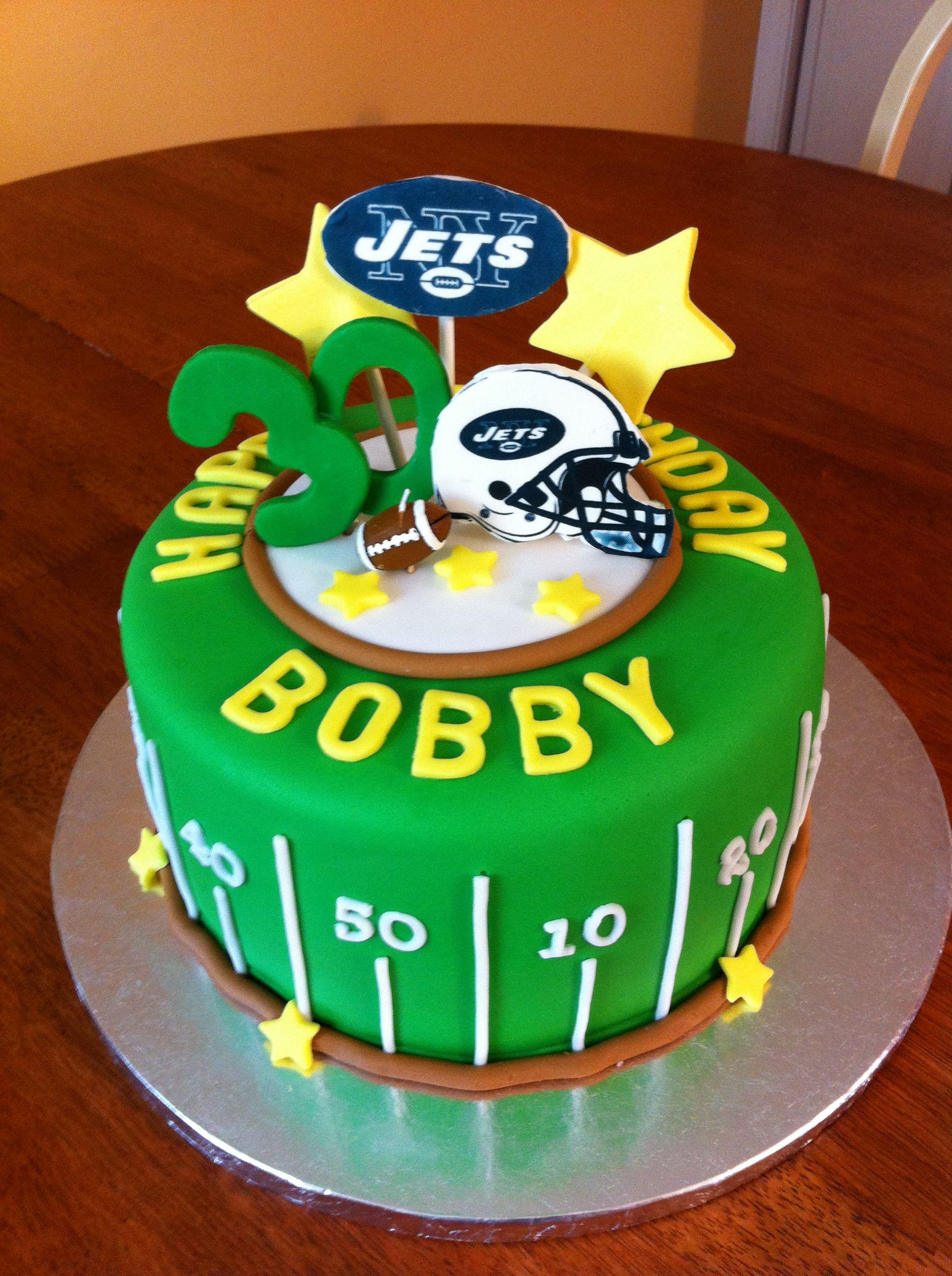 ny jets birthday cakes
