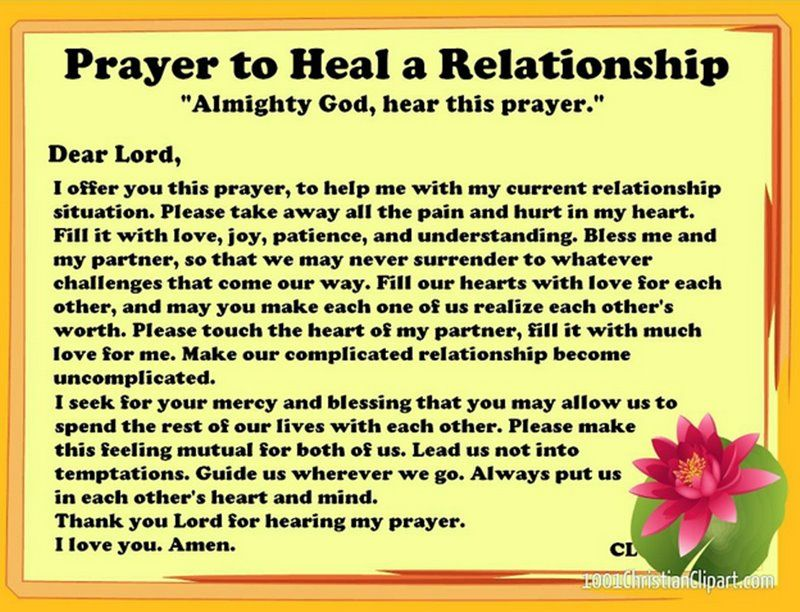 prayer to find love relationship