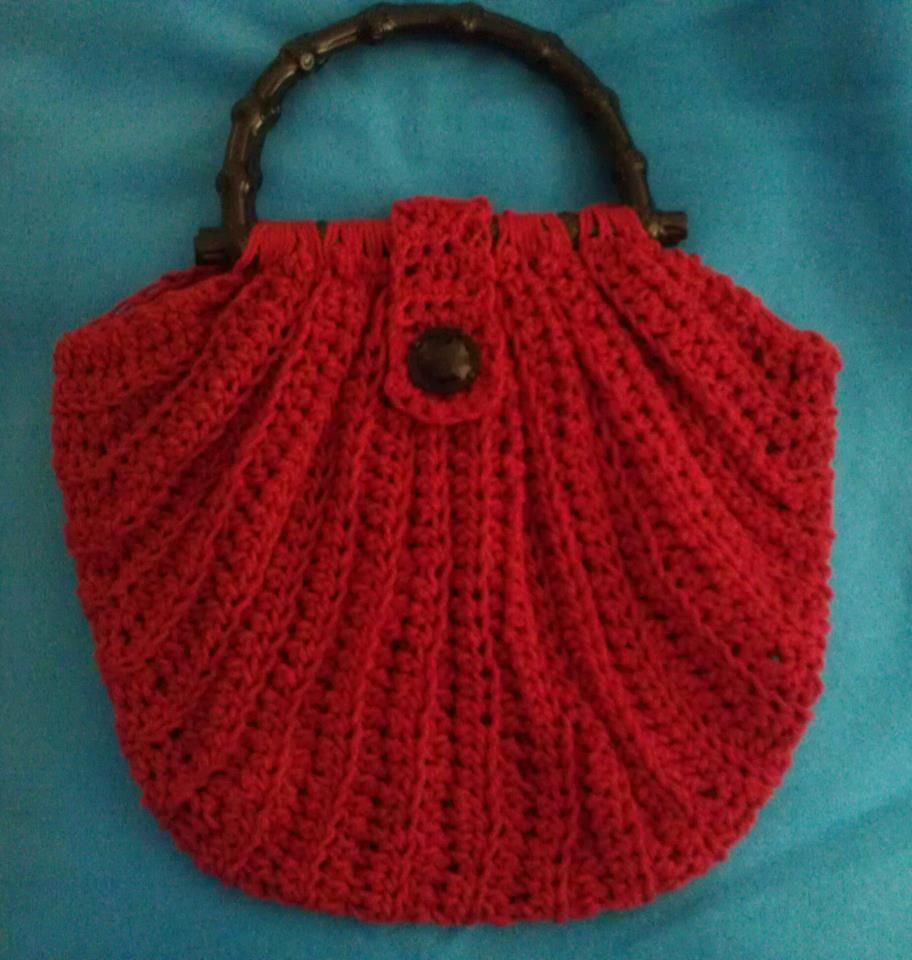 Crochet Bags Pinterest : wide crochet purse Crochet Projects Pinterest